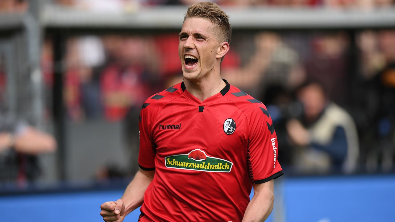 Platz 2 - Nils Petersen (SC Freiburg) - Bildquelle: 2018 Getty Images