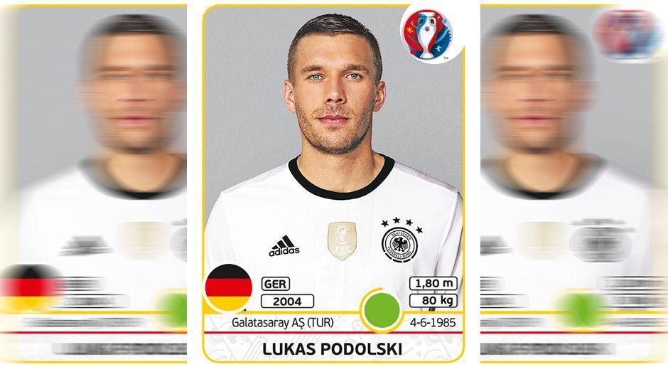 Lukas Podolski - Bildquelle: Panini