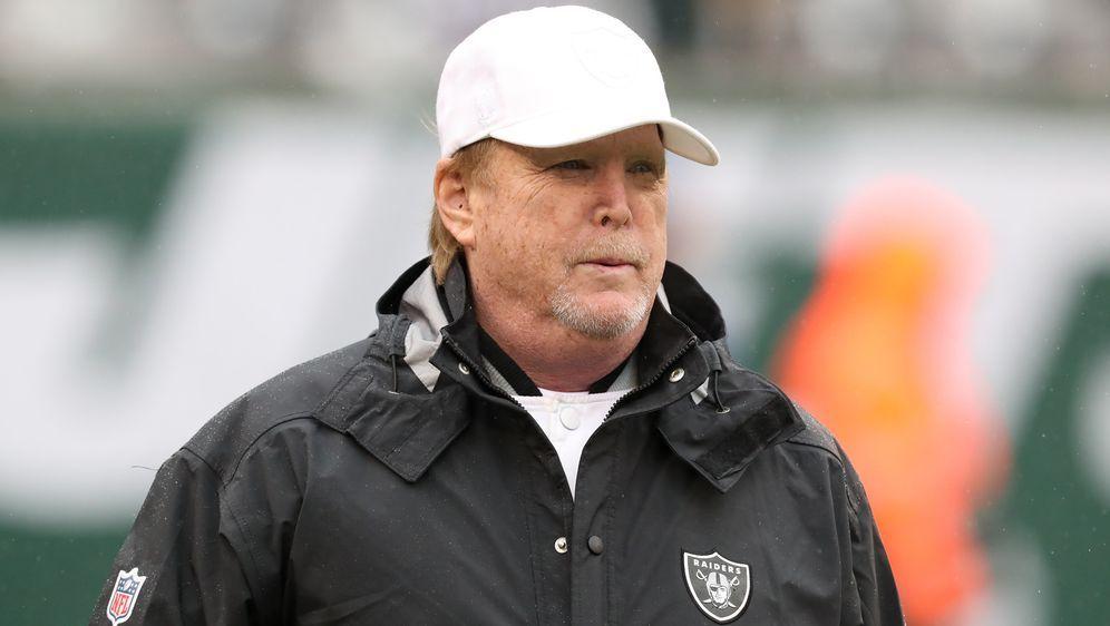 """Raiders-Besitzer Mark Davis verspricht: """"Die Gesundheit und die Sicherheit h... - Bildquelle: imago images/Icon SMI"""