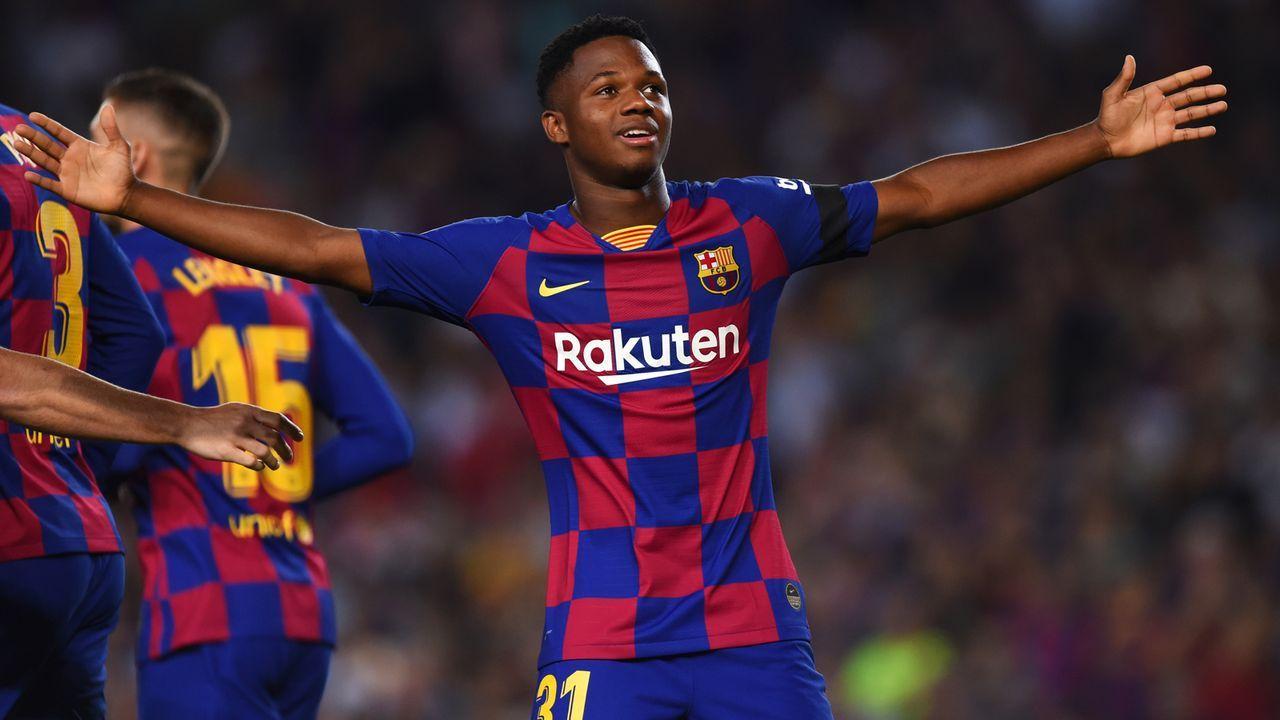 Ansu Fati: Jüngste La-Liga-Spieler im 21. Jahrhundert mit Tor und Assist in einer Begegnung - Bildquelle: 2019 Getty Images