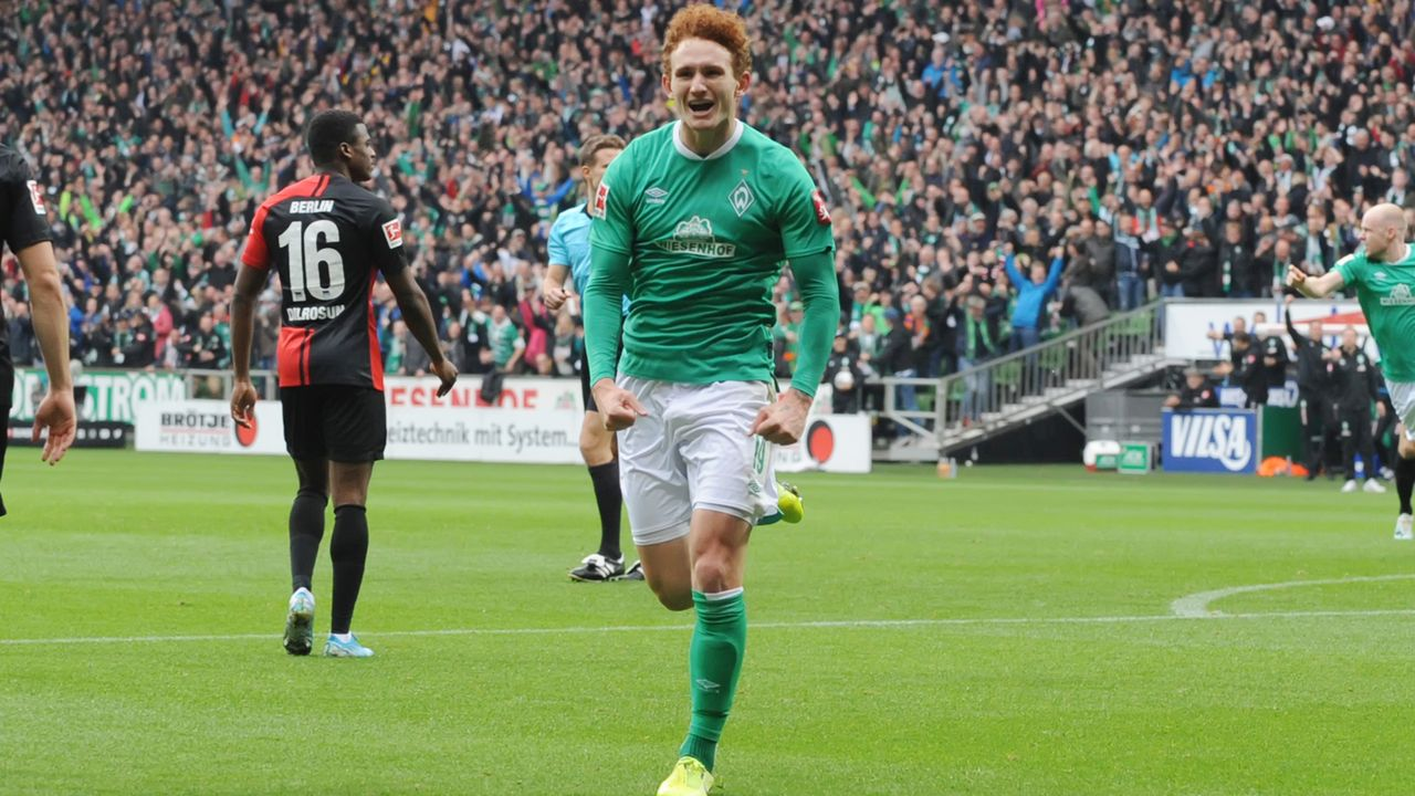 Josh Sargent (SV Werder Bremen) - Bildquelle: imago images/osnapix