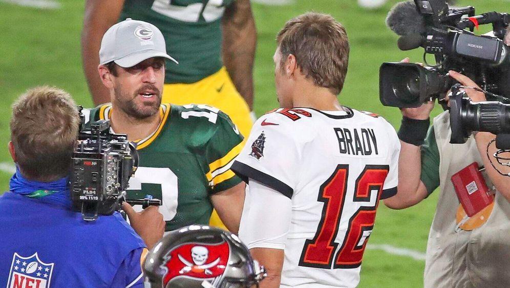 In den NFL-Playoffs kommt es am Sonntag, 24. Januar, zum Legenden-Duell zwis... - Bildquelle: Imago