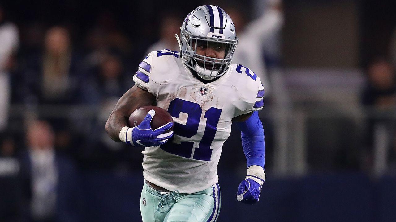 Ezekiel Elliott (Running Back, Dallas Cowboys) - Bildquelle: 2019 Getty Images