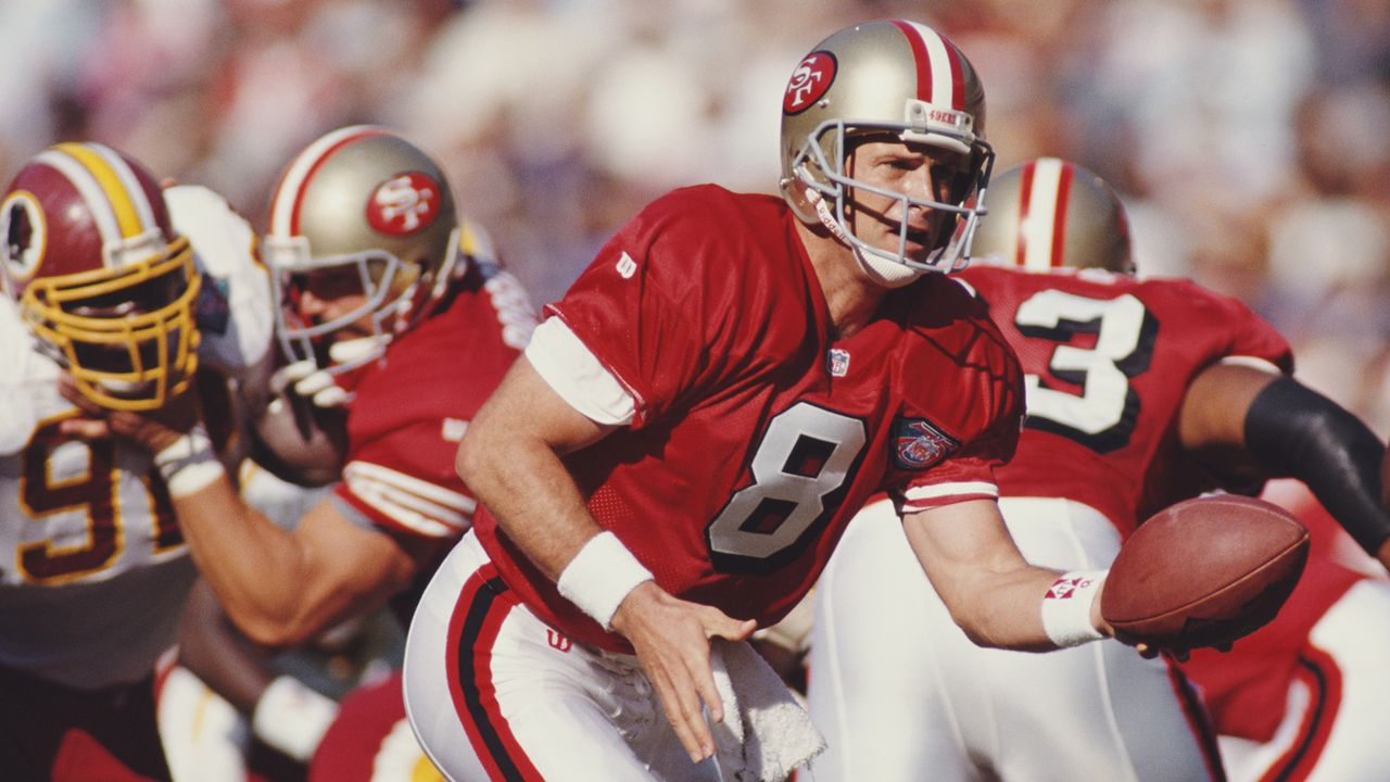 Besseres QB-Rating als Steve Young - Bildquelle: 2017 Getty Images