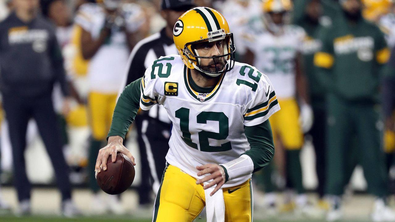 Platz 8 (geteilt): Aaron Rodgers - Bildquelle: Getty Images