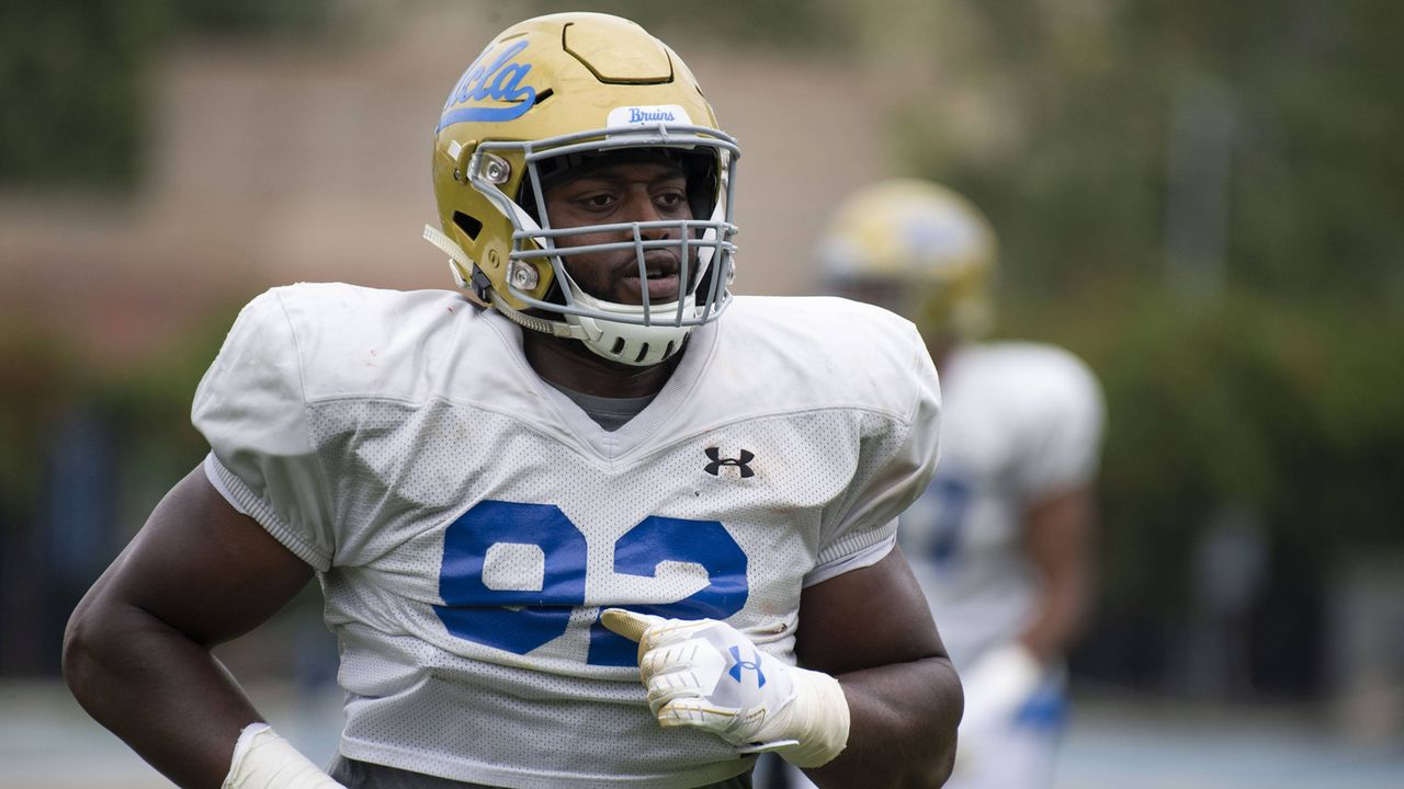 Pick 28: Osa Odighizuwa (Defensive End, UCLA) - Bildquelle: imago images / ZUMA Press