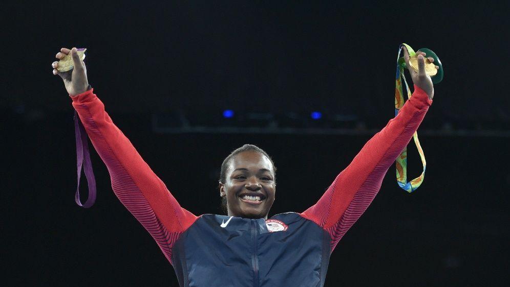 In London und Rio gewann Shields Gold im Mittelgewicht - Bildquelle: AFPSIDYURI CORTEZ