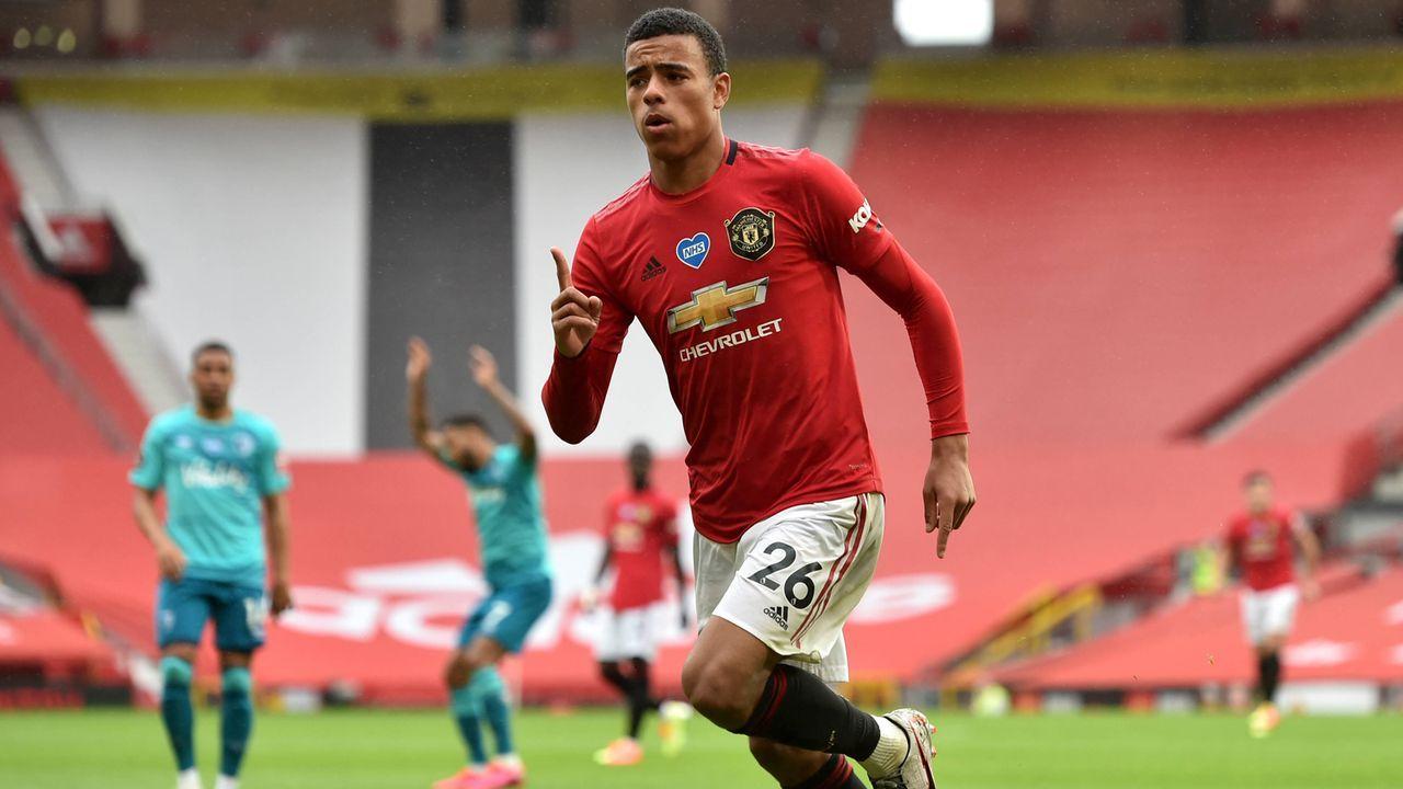 Mason Greenwood (Manchester United, 19 Jahre) - Bildquelle: imago images/PA Images