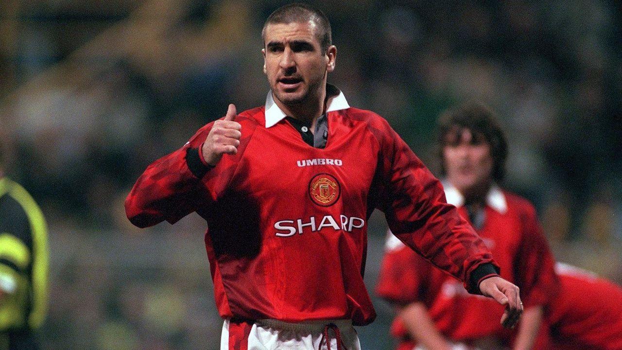 Platz 3 - Eric Cantona - Bildquelle: Bongarts