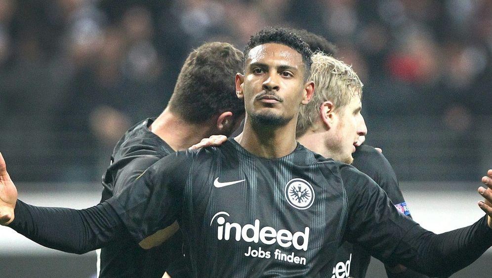 Für Frankfurt gegen Luzern erfolgreich: Sebastien Haller - Bildquelle: AFPSIDDANIEL ROLAND