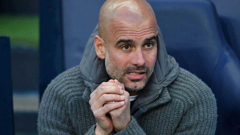 Glaubt nicht an einen Sane-Abgang: Pep Guardiola - Bildquelle: AFPSIDBEN STANSALL