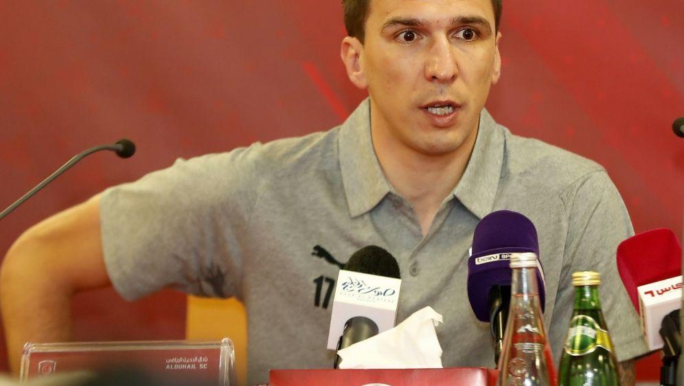 Mario Mandzukic löst seinen Vertrag bei Al Duhail auf - Bildquelle: AFPSIDKARIM JAAFAR