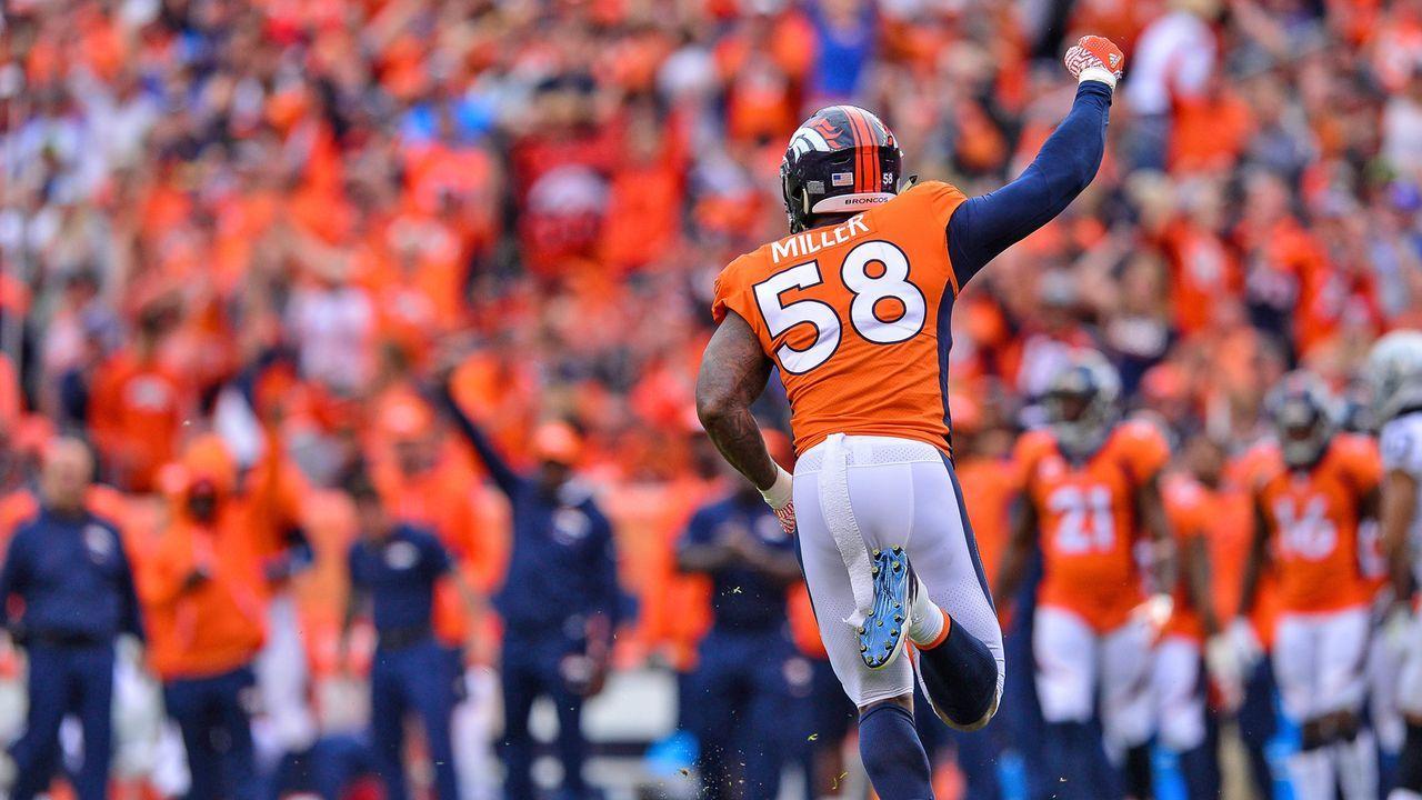 Platz 13: Denver Broncos - Bildquelle: 2017 Getty Images