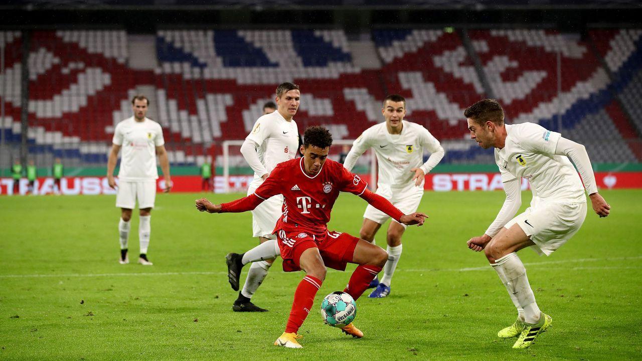 Platz 12 - Jamal Musiala (FC Bayern München) - Bildquelle: Getty Images