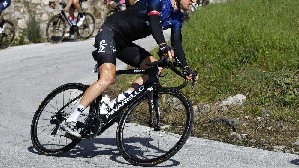 Thomas verletzt sich auf der Tour de Suisse ernsthaft - Bildquelle: PIXATHLONPIXATHLONSID