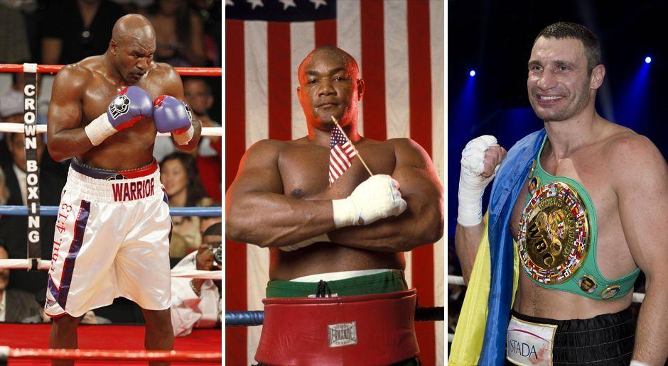 Diese Boxer kämpften noch im hohen Sportleralter