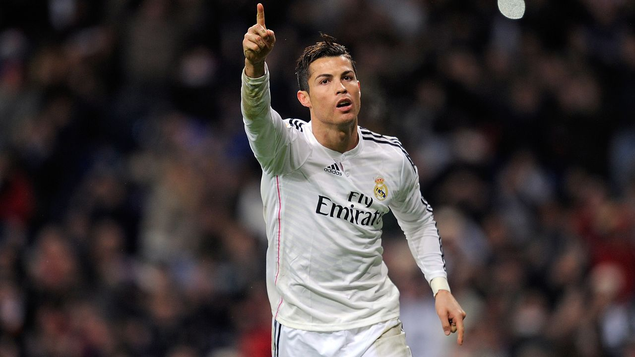 Platz 3: Cristiano Ronaldo (Real Madrid) - Bildquelle: 2014 Getty Images