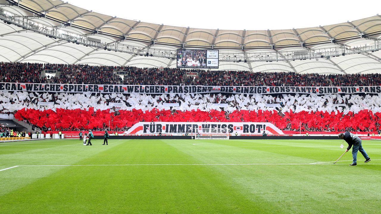 Platz 8: VfB Stuttgart - Bildquelle: imago