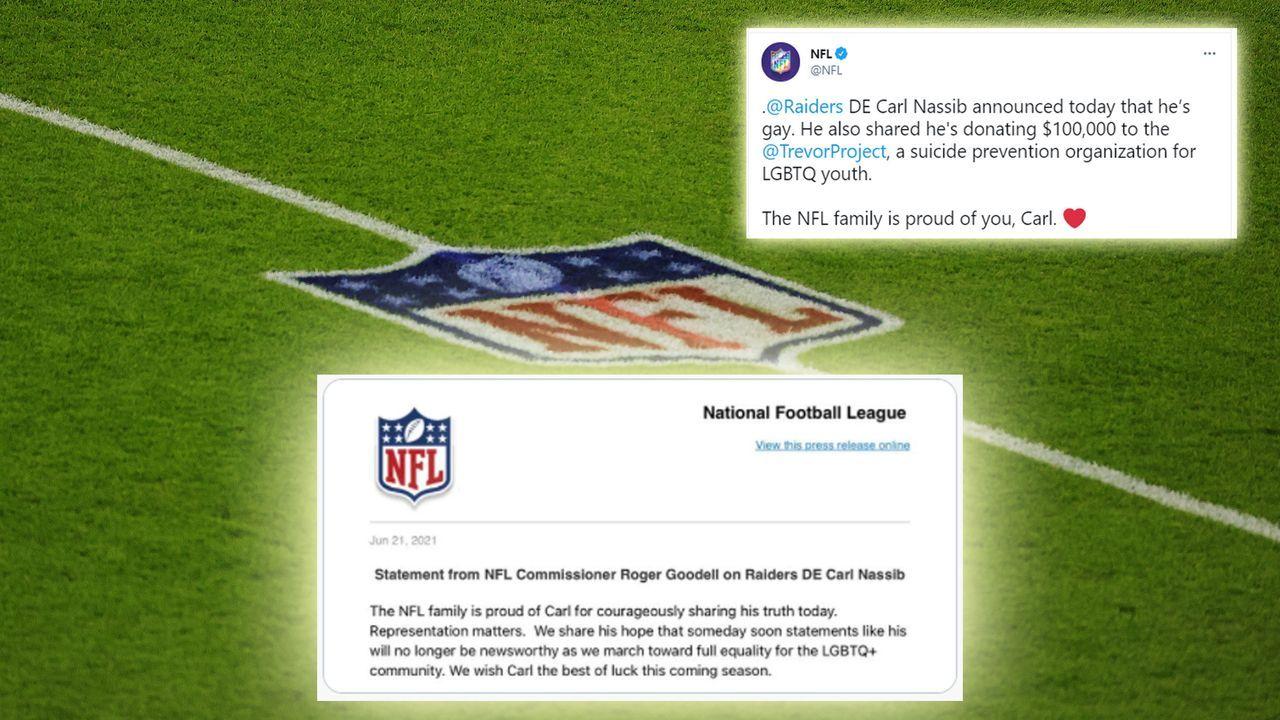 """NFL: """"Wir sind stolz auf dich, Carl"""" - Bildquelle: 2020 Getty Images"""