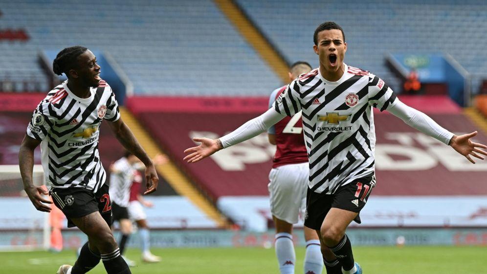 Manchester United bezwingt Aston Villa 3:1 - Bildquelle: POOLPOOLSIDSHAUN BOTTERILL