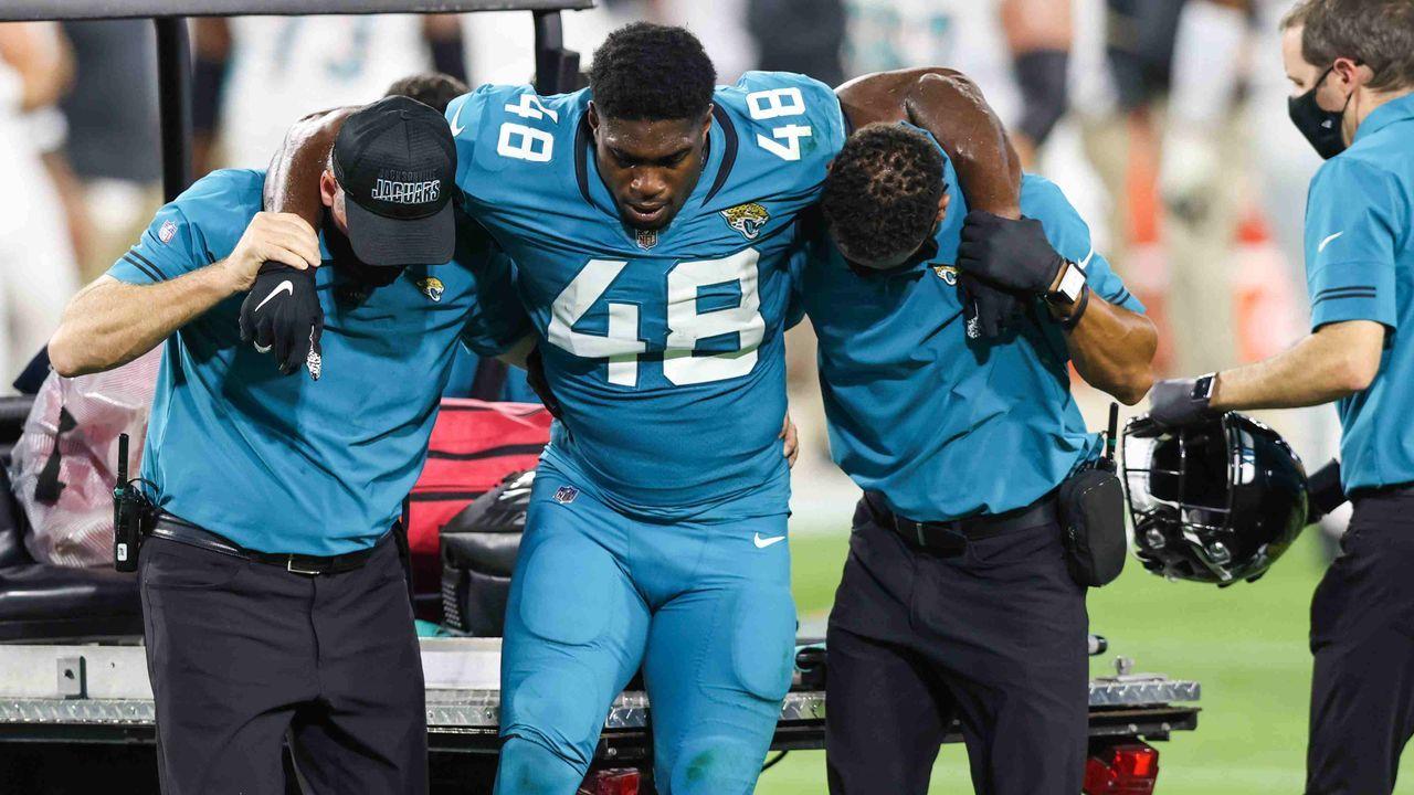Leon Jacobs (Jacksonville Jaguars)  - Bildquelle: Getty Images