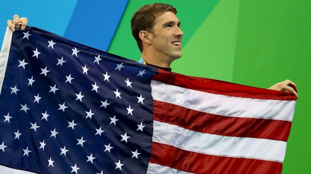 Michael Phelps (Schwimmen/USA) - Bildquelle: 2016 Getty Images