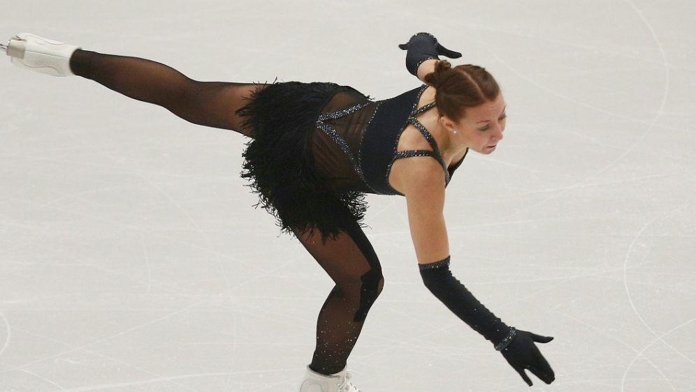 Auf Platz zwölf nach dem Kurzprogramm: Nicole Schott - Bildquelle: PIXATHLONPIXATHLONSID