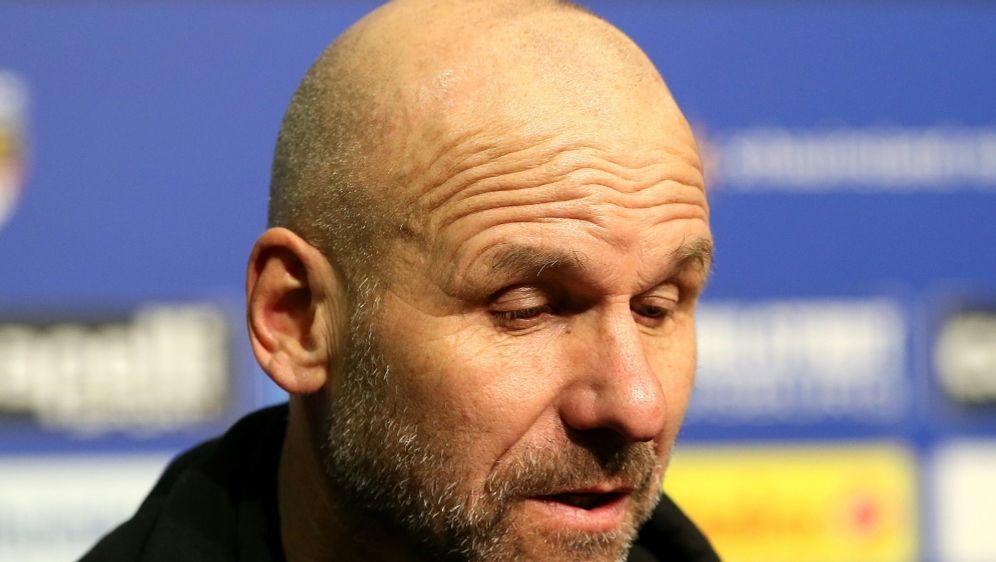 Trainer Bernhard Trares verpasste mit Würzburg den Sieg - Bildquelle: FIROFIROSID