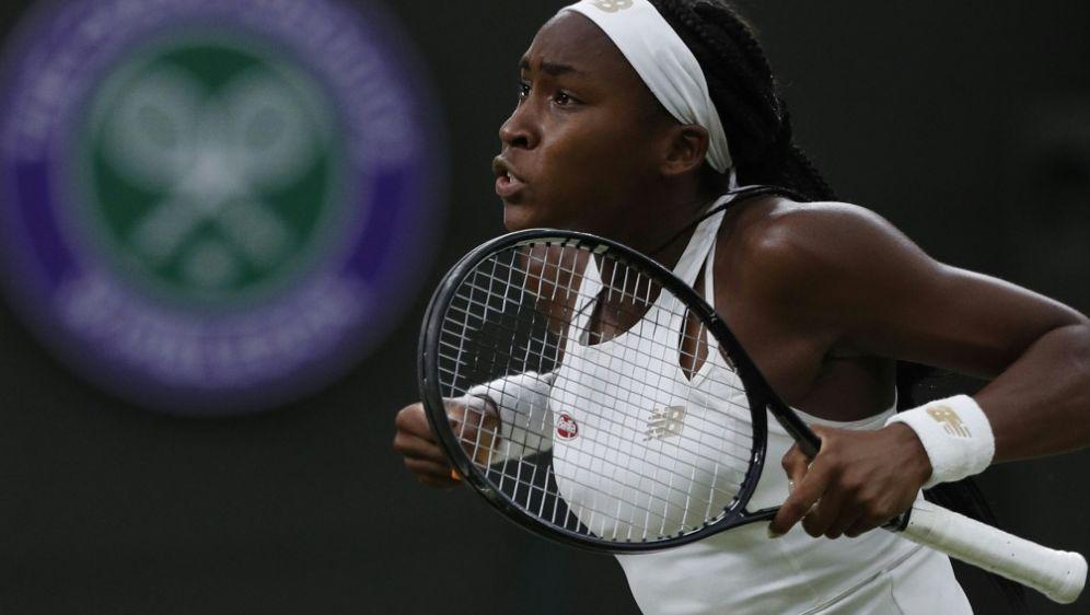 Die 15-jährige Gauff steht in Wimbledon in Runde drei - Bildquelle: AFPSIDADRIAN DENNIS