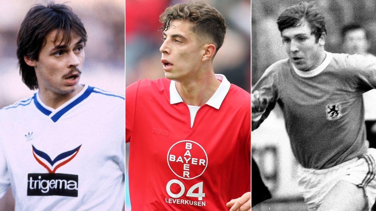 Top 5: Bundesliga-Topscorer unter 20 Jahren - Bildquelle: Getty Images/Imago