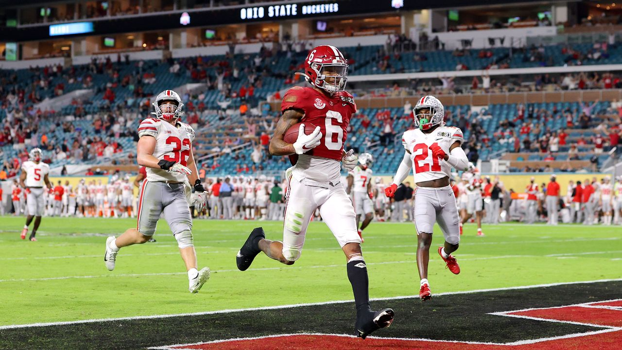Wide Receiver DeVonta Smith (Alabama) - Bildquelle: GettyImages