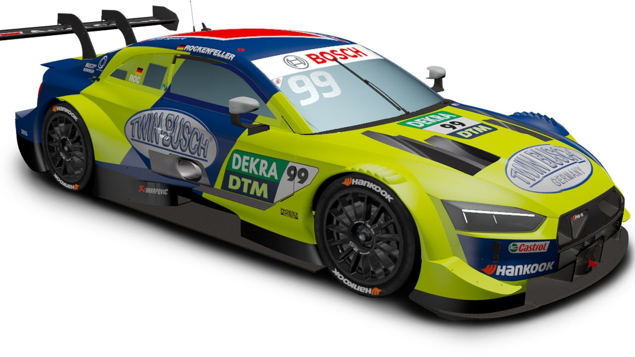 Mike Rockenfeller (Audi Sport Team Phoenix) - Bildquelle: DTM