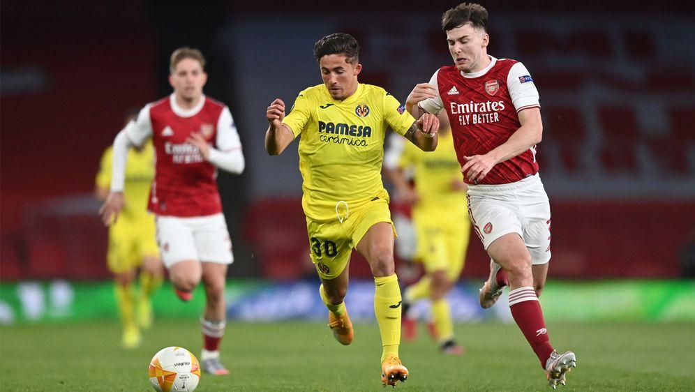 Der FC Villareal schaltet den FC Arsenal aus. - Bildquelle: Getty Images