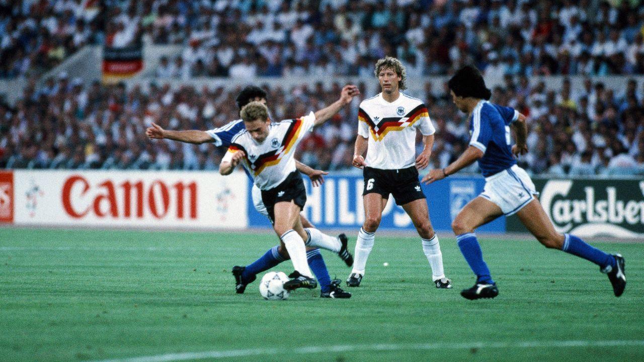 WM 1990 - Bildquelle: imago images/Sportfoto Rudel