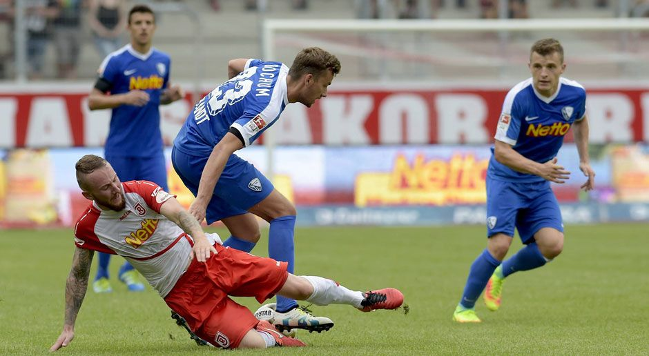 34. Spieltag: Jahn Regensburg - VfL Bochum  - Bildquelle: imago/Walter Baehnisch