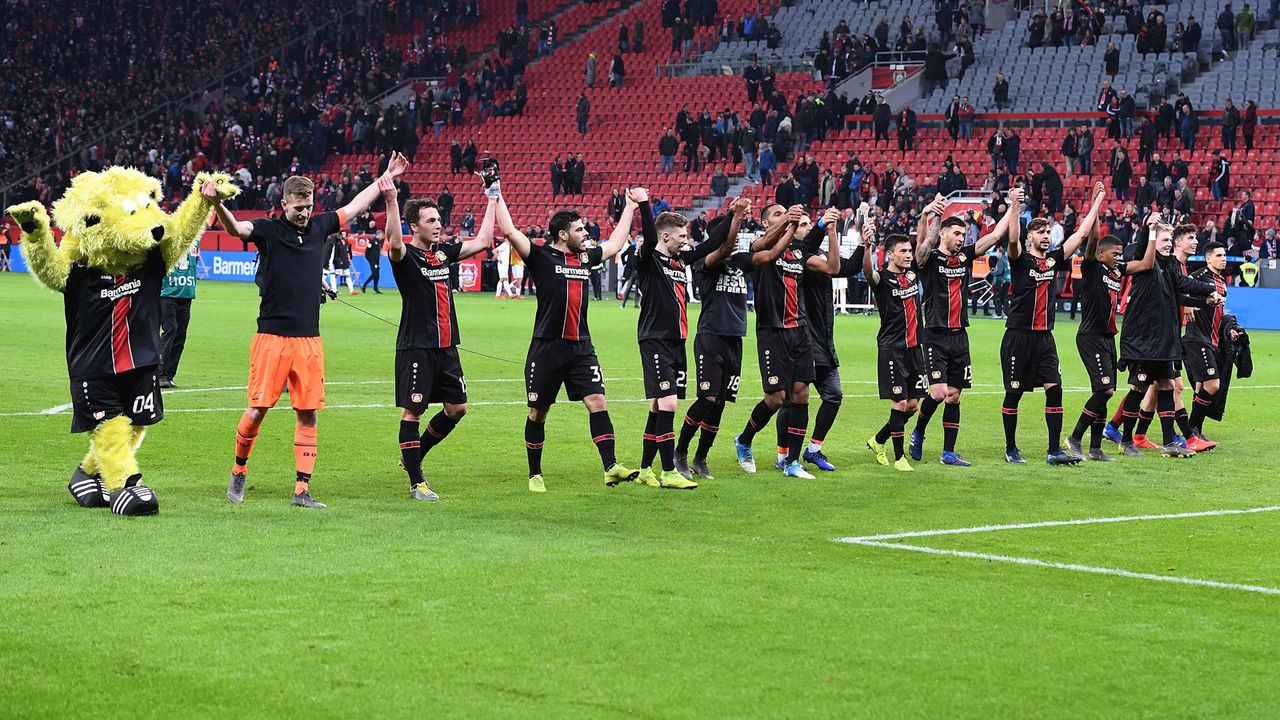 Platz 14: Bayer 04 Leverkusen - Bildquelle: imago/Revierfoto