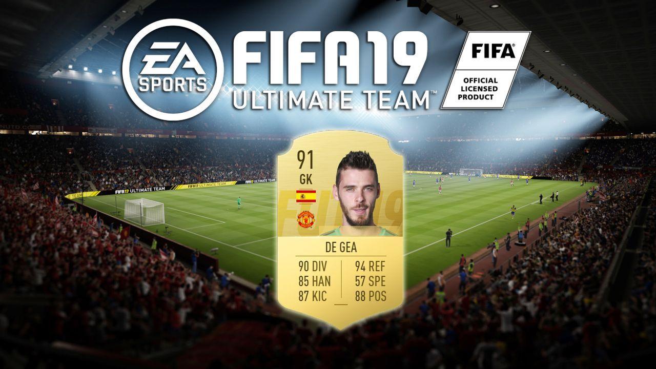Platz 6: David de Gea (Manchester United) - Bildquelle: EA Sports