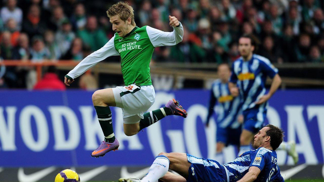 Marko Marin (SV Werder Bremen) - Bildquelle: 2012 Getty Images