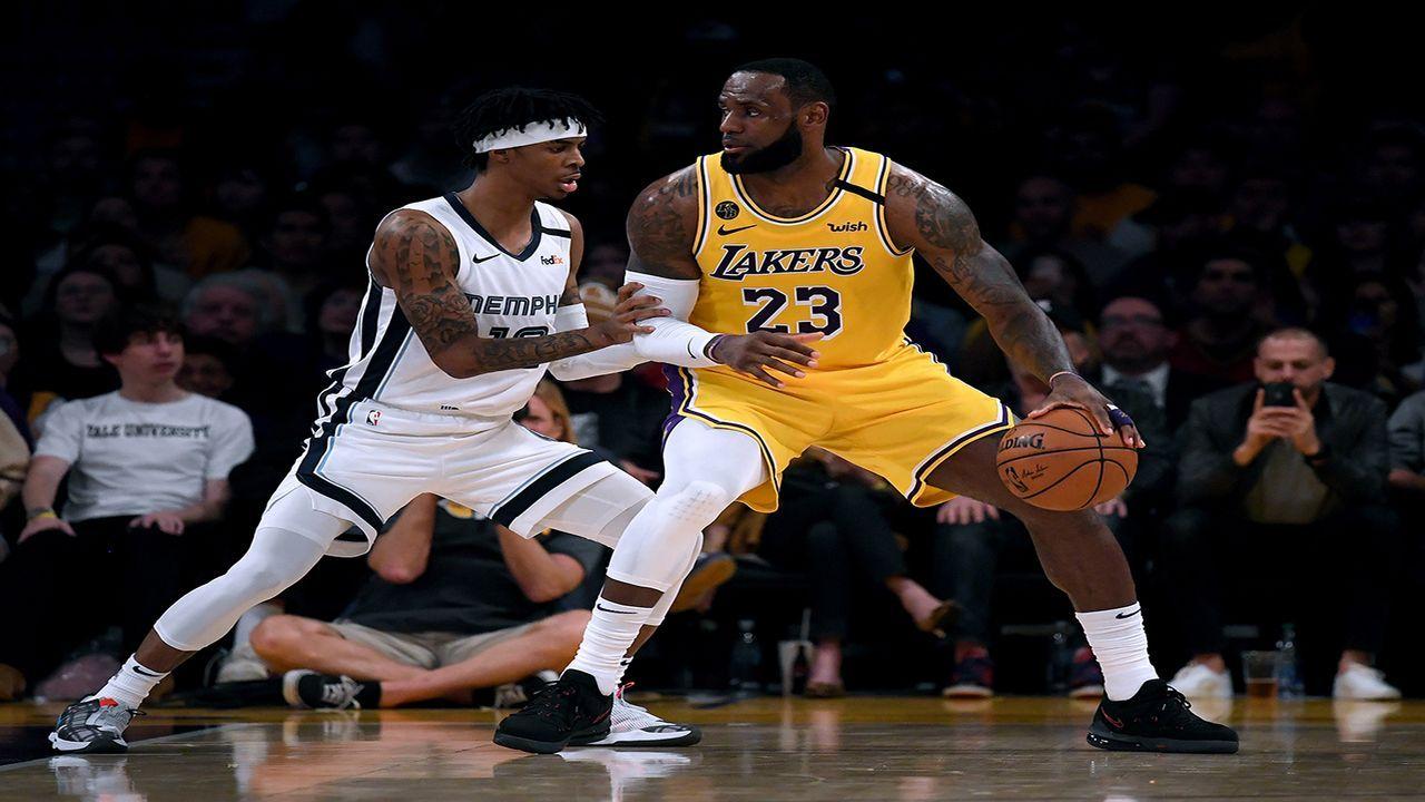 WESTEN: Los Angeles Lakers vs. Memphis Grizzlies - Bildquelle: Getty Images