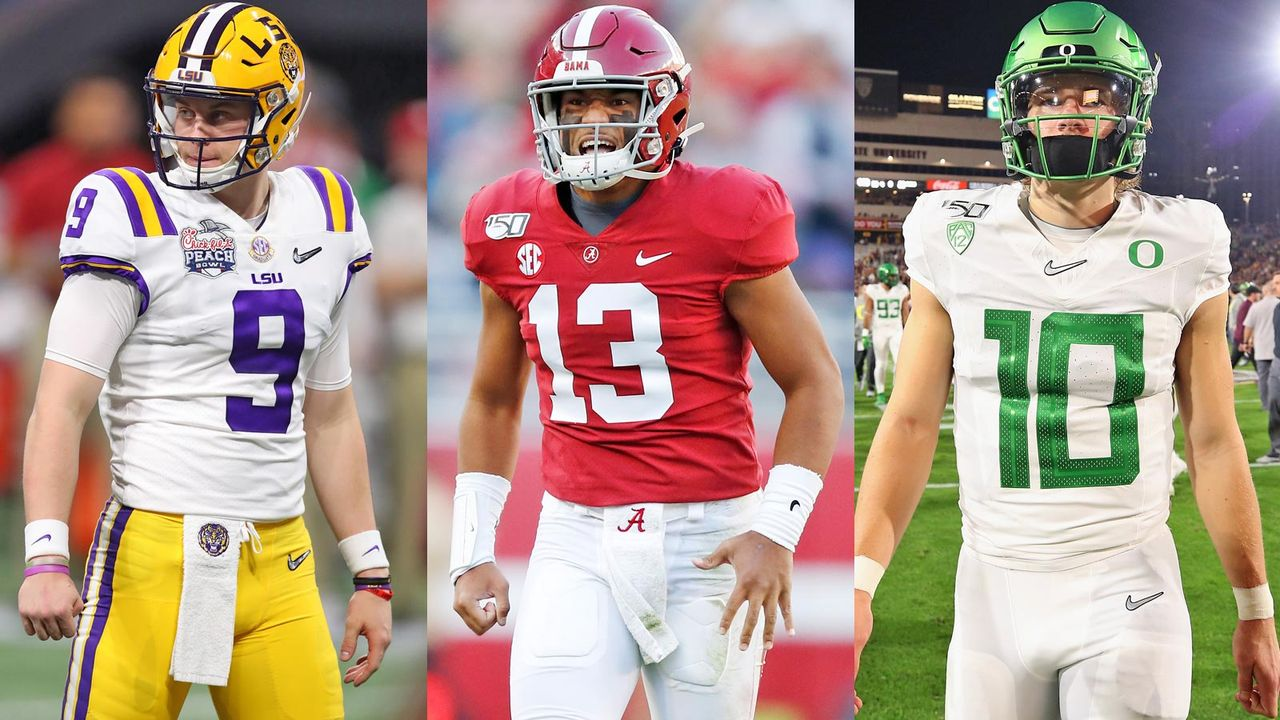 Burrow, Tagovailoa und Co.: Die Top-Quarterbacks im Draft 2020 - Bildquelle: getty