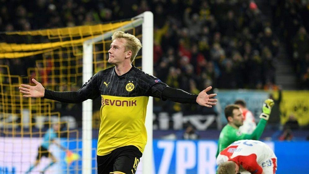 Julian Brandt schießt den BVB zum Sieg - Bildquelle: AFPSIDINA FASSBENDER