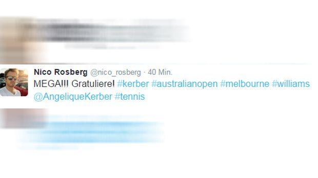Nico Rosberg Tweet - Bildquelle: twitter / @nico_rosberg