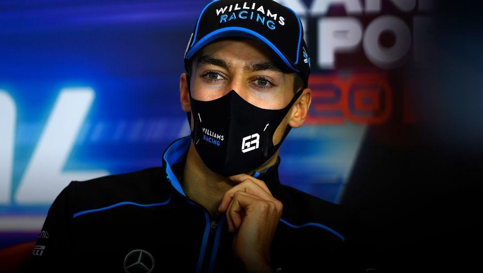 Fährt am Wochenende für Mercedes: George Russell. - Bildquelle: 2020 Getty Images