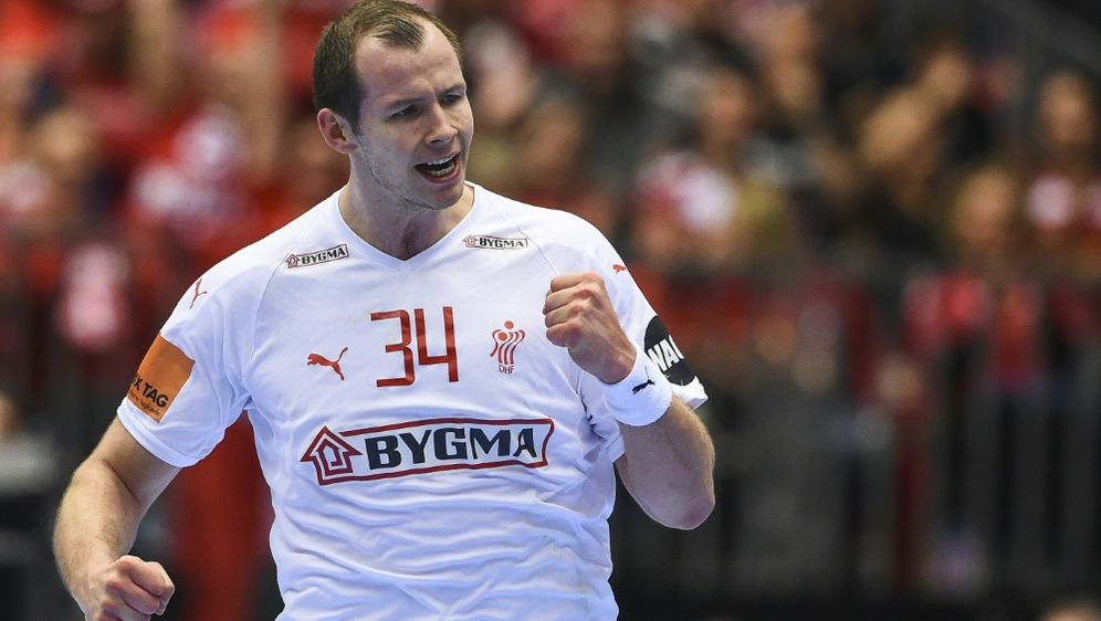 Simon Hald wurde 2019 Weltmeister mit Dänemark - Bildquelle: AFPSIDJONATHAN NACKSTRAND