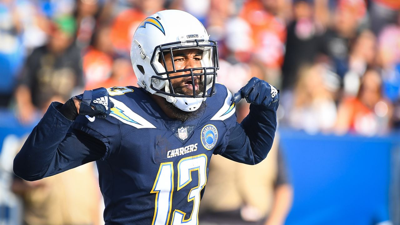 Platz 38: Keenan Allen - Bildquelle: 2018 Getty Images