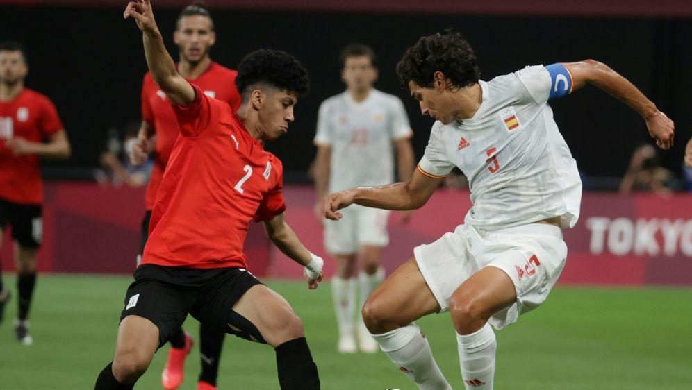 Spanier mit Nullnummer gegen Ägypten - Bildquelle: AFPSIDASANO IKKO