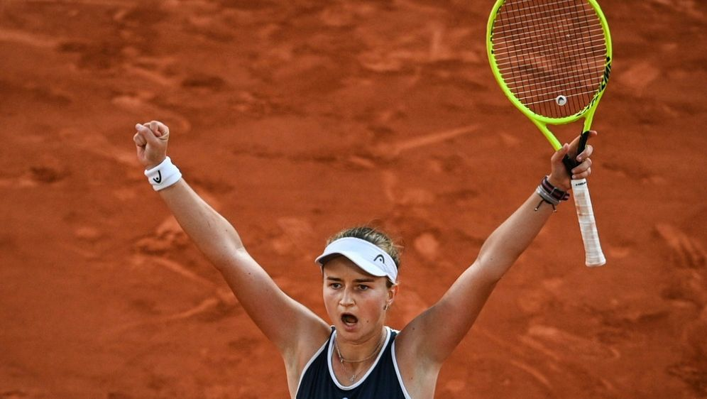 Krejcikova auch im Doppel im Finale - Bildquelle: AFPSIDANNE-CHRISTINE POUJOULAT