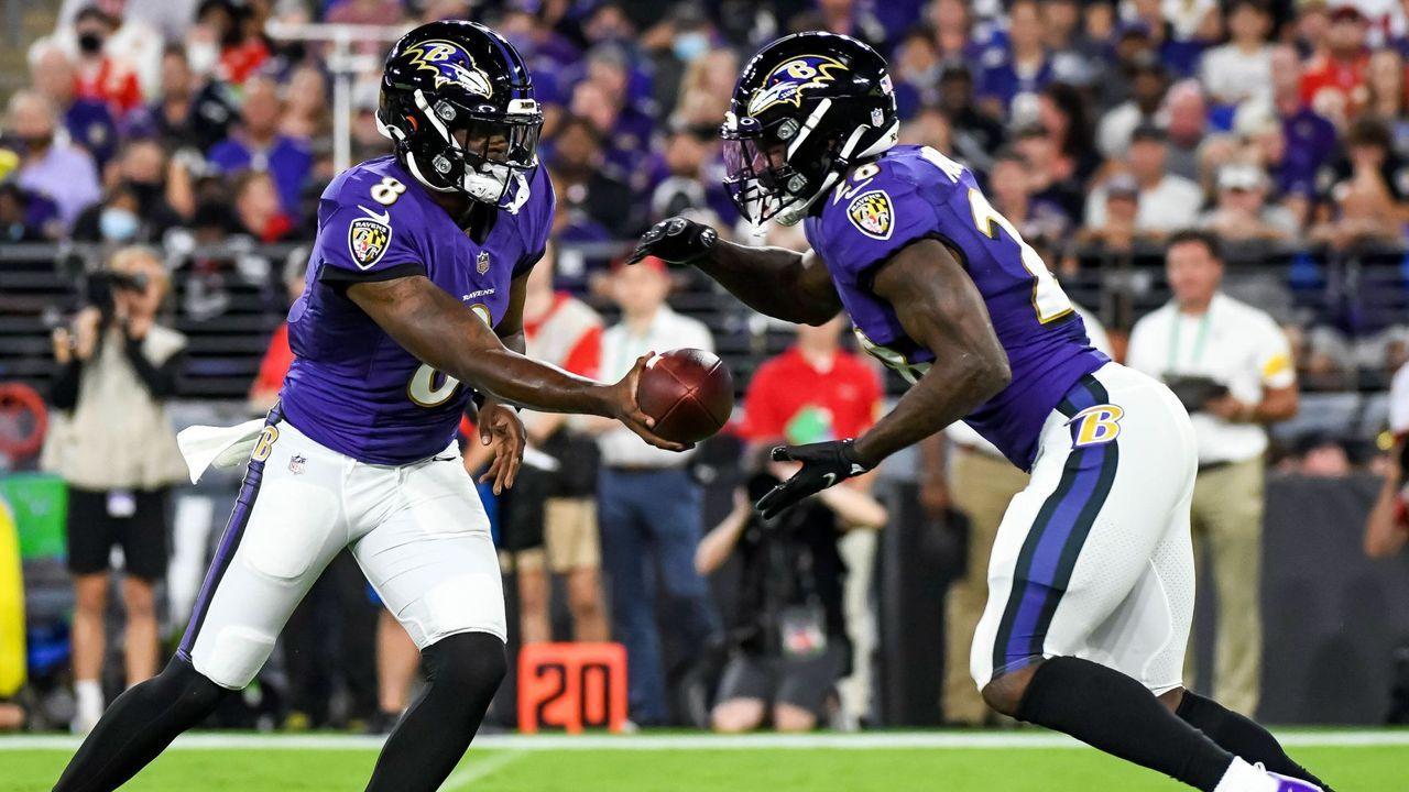 Running Backs der Baltimore Ravens  - Bildquelle: imago