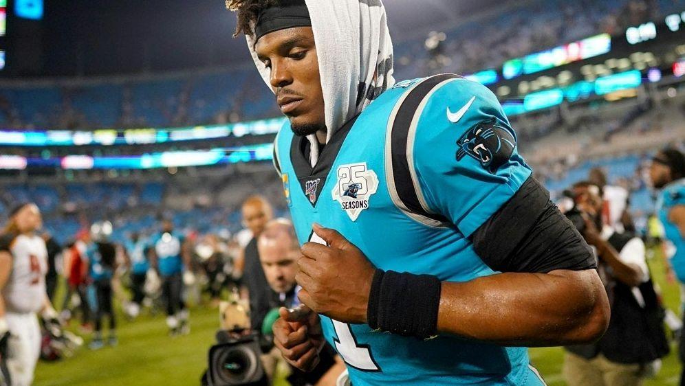 Carolina Panthers: Für Cam Newton ist die Saison beendet - Bildquelle: AFPGETTY SIDJacob Kupferman