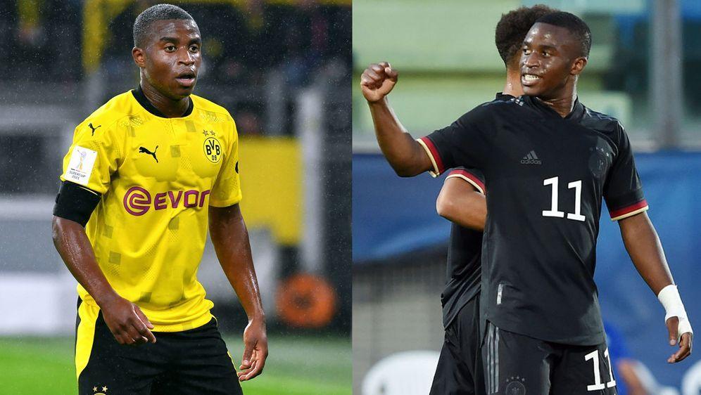 Youssoufa Moukoko erlebt bei Borussia Dortmund und in der U21-Nationalmannsc...